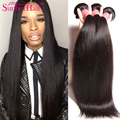 Grade 7a Cambodian Straight Virgin Hair Unprocessed Cambodian Virgin Hair Cheap Straight Human Hair Extensions 3 Bundles