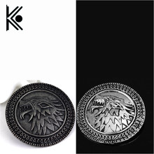 free shipping game of thrones brooch song of ice and fire vintage targaryen  dragon badge pin for men and women wholesale f4ad6a9c3403
