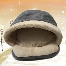 Soft Puppy Dog House Sleeping Bag Warm Bed Pet Dog House Bed Mat Pet Cat Kennel Supplies Comfort Nest For Small Dogs 8A25