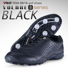 Высокое качество Pgm обувь для гольфа мужские кроссовки для гольфа водонепроницаемые дышащие кроссовки для мужчин Профессиональные тренировочные кеды для гольфа AA10101