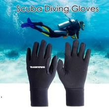 0d414d5f7 Unisex Anti-slip Luvas Luvas de Mergulho Mergulho Natação Mergulho Surf  Mergulho Caiaque 3 Neoprene