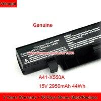 Original 15V 2950mAh 44Wh X450 X550 A41 X550 Battery for Asus X550C A41 X550A X550J X550 X550D X550B X550V X550CA X550JX X450C