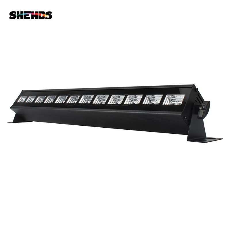 TOP-Rate Seller LED Stage Light Bar 12x3W UV Color Led Wall Wash DMX Stage Light Effect For Disco DJ KTV Club Home Entertainment