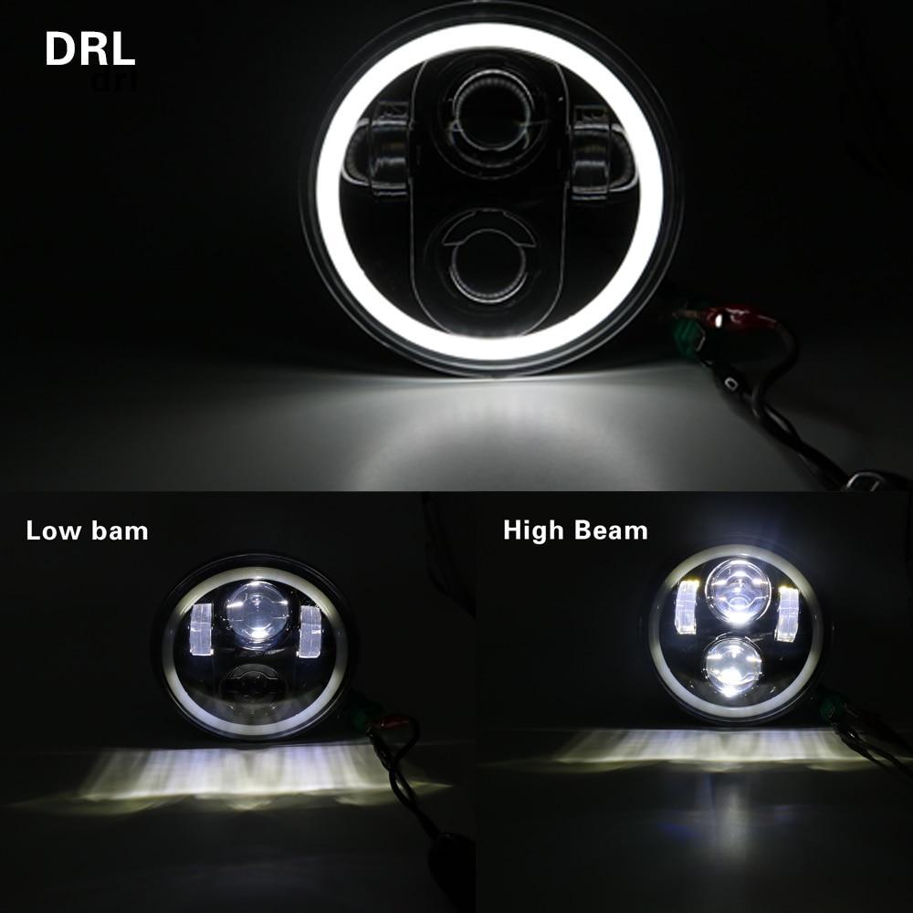 Led Headlights Full Halo Lights Kit