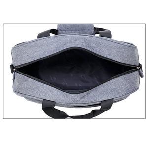 Image 4 - Luggage travel bags Waterproof canvas men women big bag on wheels man shoulder duffel Bag black gray blue carry on cabin luggage