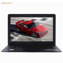 Amoudo-6C Plus 14inch Intel Core i7 CPU 4GB+64GB+1TB Dual Disks Windows 7/10 System 1920x1080P FHD Laptop Notebook Computer