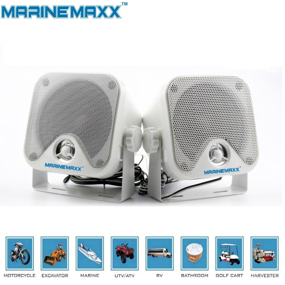 Bluetooth Speakers Boat Audio Marine Stereo System Waterproof ...