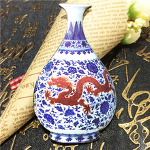 Chinese classical features high-end crafts porcelain vase refrigerator magnet Free shipping