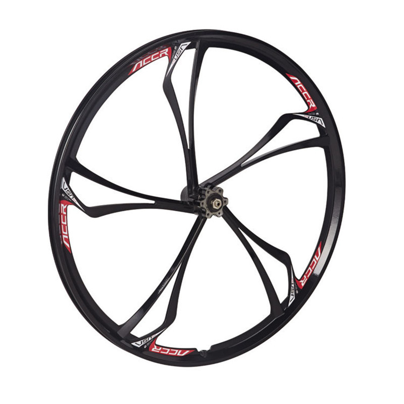 MAGNESIUM ALLOY WHEELS FRONT AND REAR MTB MOUNTAIN BIKE WITH CASSETTE NEW 26 inch 2PCS bike wheel-in Bicycle Wheel from Sports & Entertainment    1