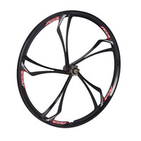 MAGNESIUM ALLOY WHEELS FRONT AND REAR MTB MOUNTAIN BIKE WITH CASSETTE NEW 26 inch 2PCS bike wheel