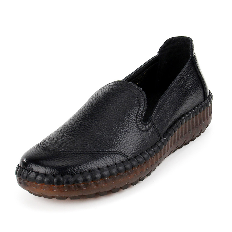 Conduite Femmes Mode Main À Des De noir Casual Chaussures Cuir Doux Ceyaneao En Rétro Mocassins Véritable La jaune Beige Shoee1080 Appartements pourpre Mère CqaXtvw