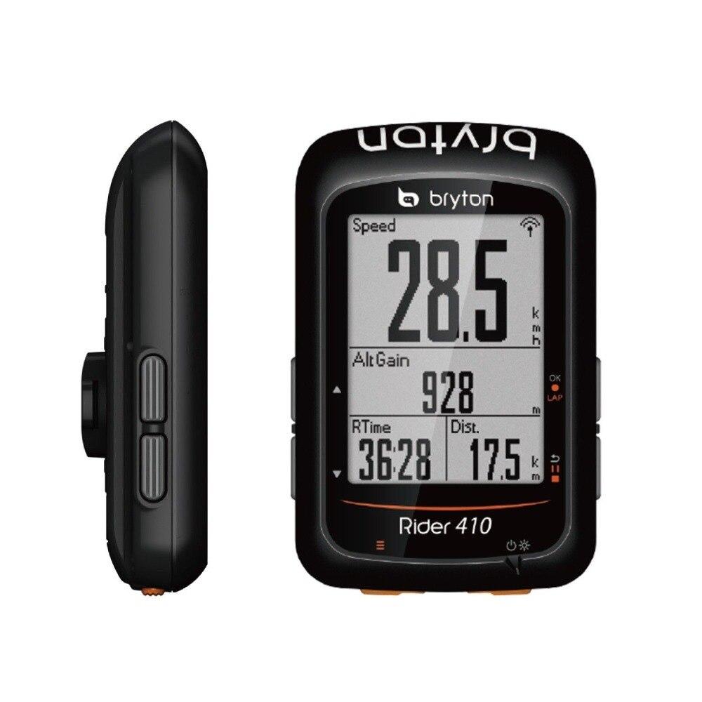 Bryton Rider 410E/410 t Sans Fil GPS/ANT + BLE Vélo Vélo Vélo Ordinateur