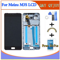 QYQYJOY Display 5 0inch Touch Screen Tools High Quality HD Digitizer Assembly Replacement For Meizu M3S