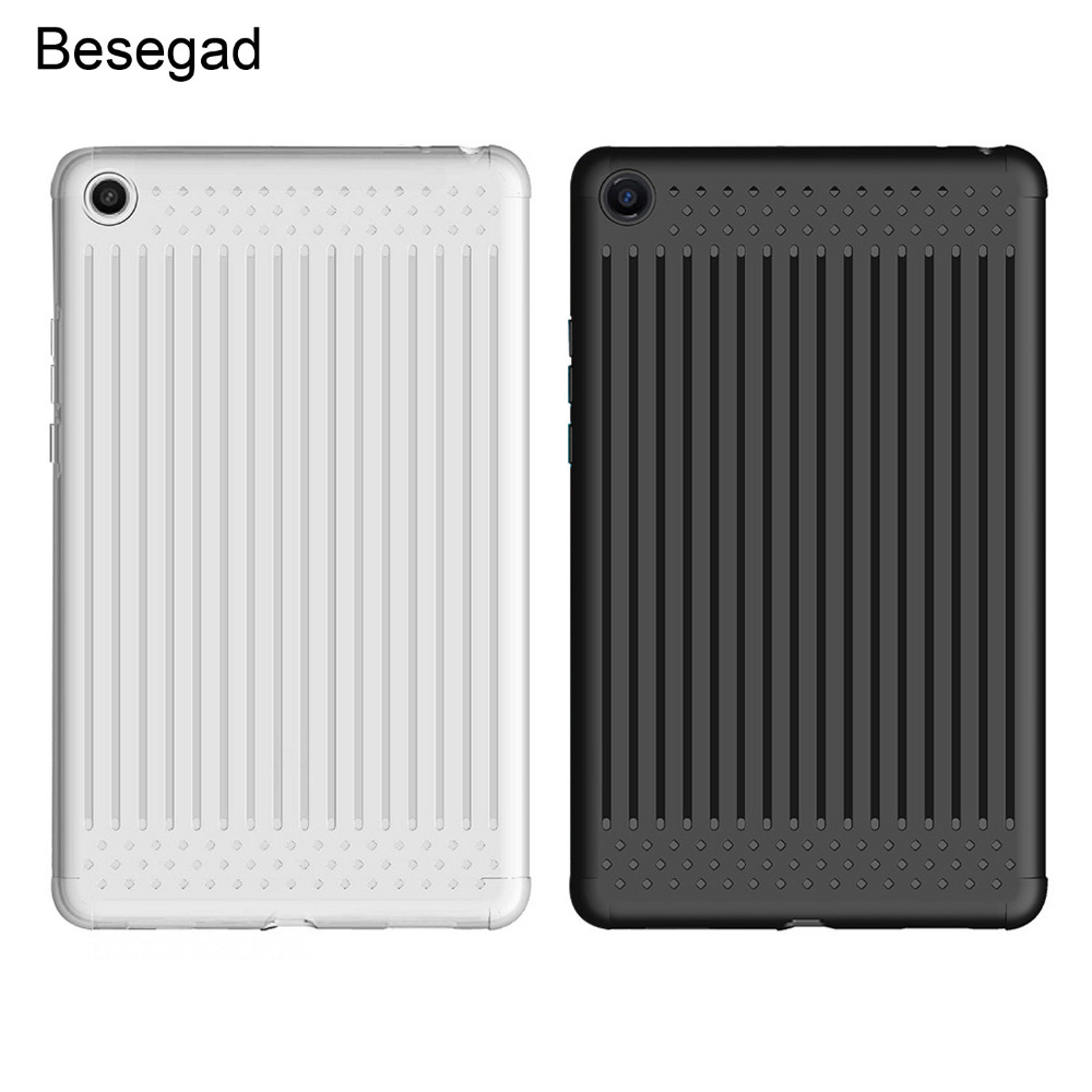 Besegad Soft Ultra-Thin Tablet PC Protective Case Shell Skin Cover Protector for Xiaomi Xiao Mi Pad MiPad 4 2018 8 Inch