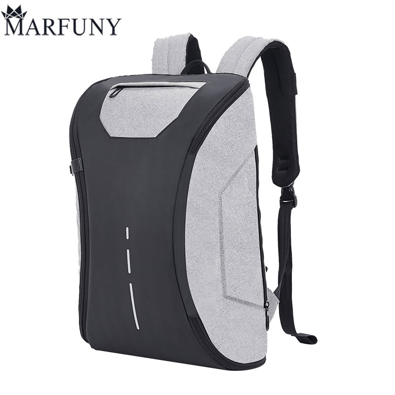 Fashion Male Mochila Leisure Travel Backpack Anti Thief Multifunction USB Charging Men 14inch Laptop Backpacks For Teenager 2018