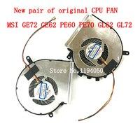 New MSI GE62 GL62 GE72 GL72 GP62 GP72 PE60 PE70 CPU Cooling Fan PAAD06015SL