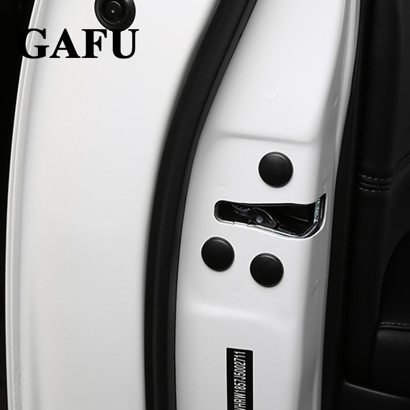 Для Mazda CX-5 CX5 двери автомобиля замок Проверить винт защитную крышку отделкой Наклейки Водонепроницаемый Автомобиль Стайлинг 12 шт./компл.
