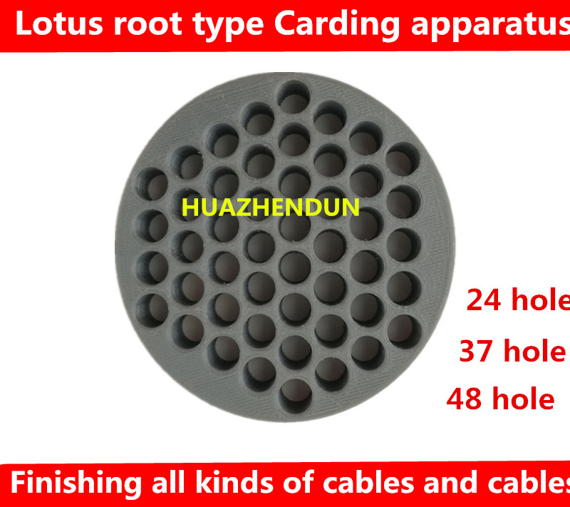 DEBROGLIE Lotus Root Type Carding Apparatus  Cable Lines Comb Machine Wire Harness Arrangement Tidy Tools For Computer Room