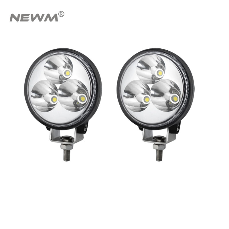 Auto parts 9W 3inch led working lights super bright round led work lamp 10-30v led driving light for jeep truck offroad vehicles 2016 new super bright 50w 12 inch 9 led car off road lamp 9 32v ip68 automobile truck work light fog driving light energy saving