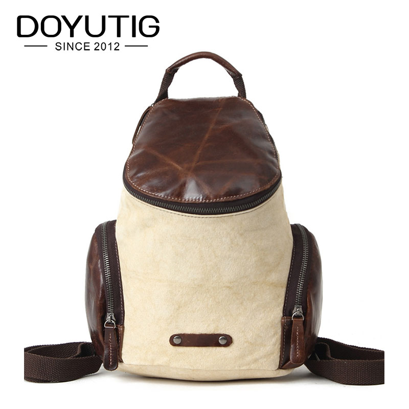 Hot Sale Light Yellow Mens Crazy Horse Leather Knapsack Fashion Male & Female Large Capicity Fashion Double Shoulder Bags H044Hot Sale Light Yellow Mens Crazy Horse Leather Knapsack Fashion Male & Female Large Capicity Fashion Double Shoulder Bags H044