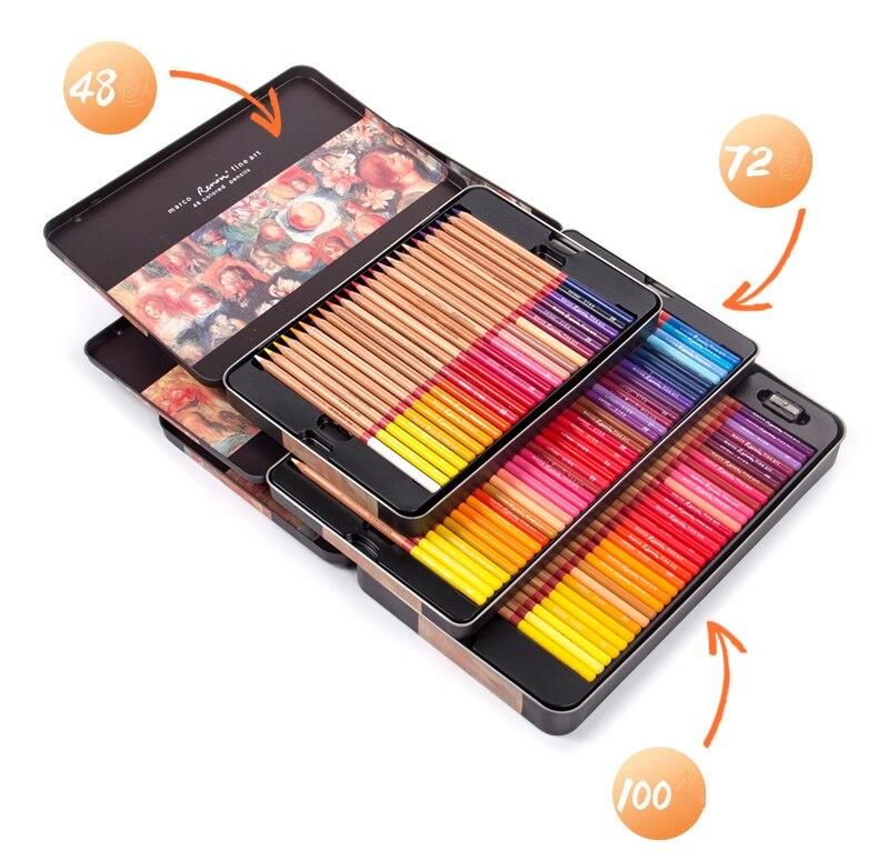Renoir 4872100120 aquarela e óleo cor lápis