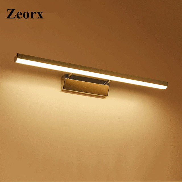 ZEORX 40cm 15inch Waterproof Acrylic Mirror Light led mirror light ...