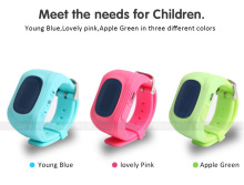 Q50 Children's LBS/AGPS Positioning SOS Calls LCD Smart Watches for IOS Android