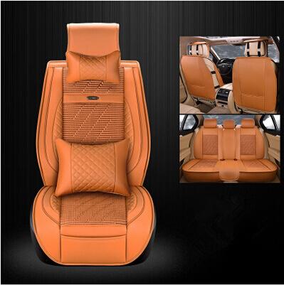La mejor calidad! conjunto completo de asiento de coche cubre para Hyundai Tucson 2016 respirable cómodo fundas para asientos de Tucson 2015, Envío libre