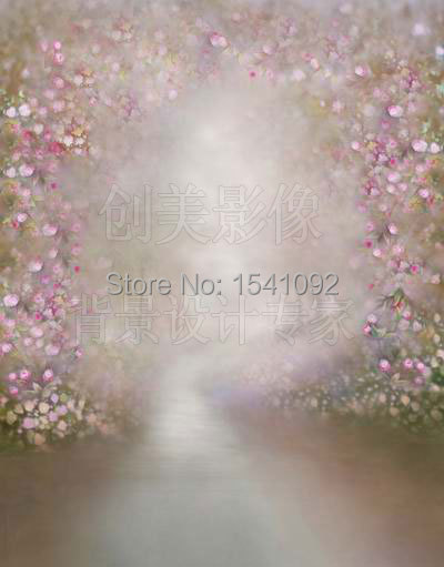 Thin fabric cloth Printed photography background oil painting backdrop Customize vinyl photography backdrop  CM2871 vinyl backdrop photography lovely painting of wildflowers newborn photography background cm s 110
