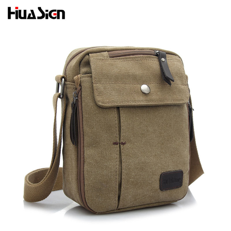 Huasign Men Messenger Bags Shoulder Bag Hot Sale Canvas Crossbody Bags High Quality Men's Travel Men Bag hot sale mens messenger bags high quality canvas shoulder bag cool men business fashion crossbody bags casual travel bag
