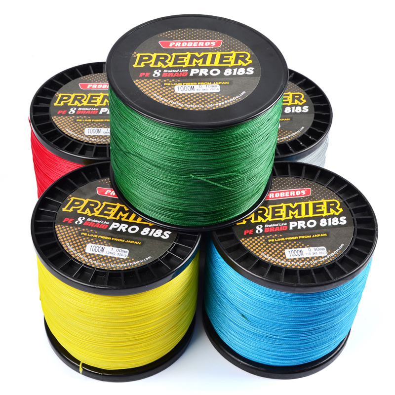 1000M PE Fishing Line 8 stands 8 Weaves High Quality Japan Braided Wire Available 40LB-300LB PE Line 8 strands 1000m 65 150lb superpower kastking pe braided fishing line for deep water crank bass carp fishing multifilament