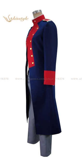 Kisstyle de moda & Aeneas Romanze: Shojo Kishi MonogatarvWalroma Takahiro Mizuno uniforme ropa Cosplay traje