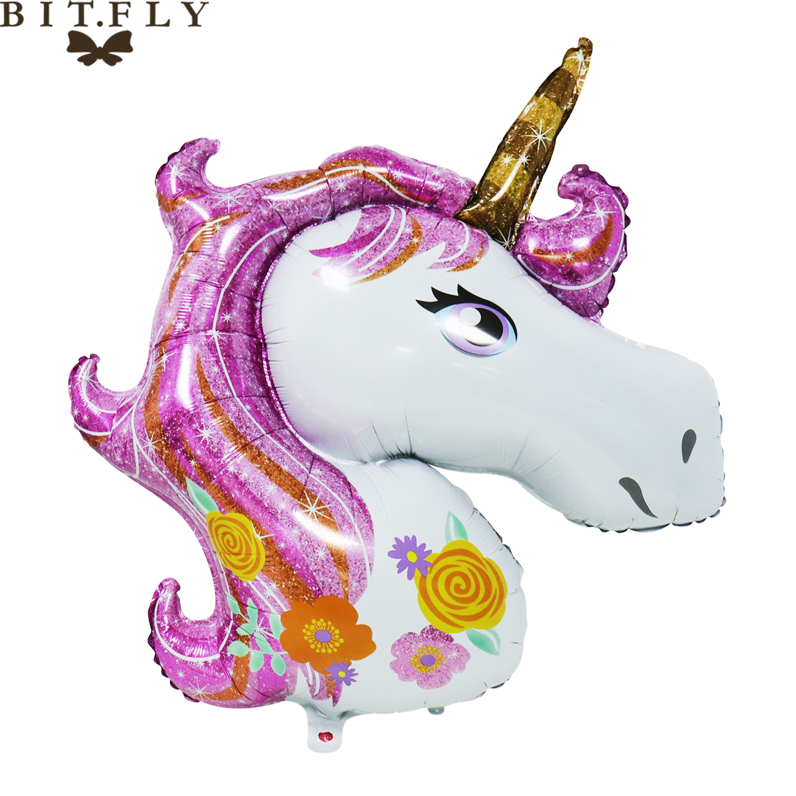 10pcs Flying Horse Foil Helium Balloons Baby Shower Birthday Party Decorations