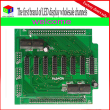 Hub40A board for led synchronous control system can match Linsn RV901 Nova MRV3000 Colorlight 5A