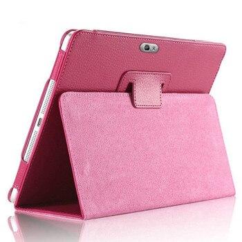 "GT-N8000 N8000 N8010 N8020 PU skórzany pokrowiec do Samsung Galaxy Note 10.1 ""2012 Release N8000 Tablet magnes otwierany futerał ze stojakiem"