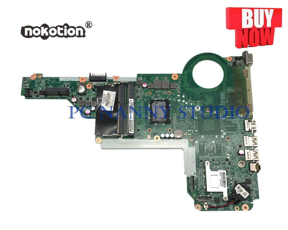 PANANNY 729843-501 729843-001 FOR HP Pavilion 17-E 15-E Mainboard I3-3110M DAR62CMB6A0 DDR3 Tested