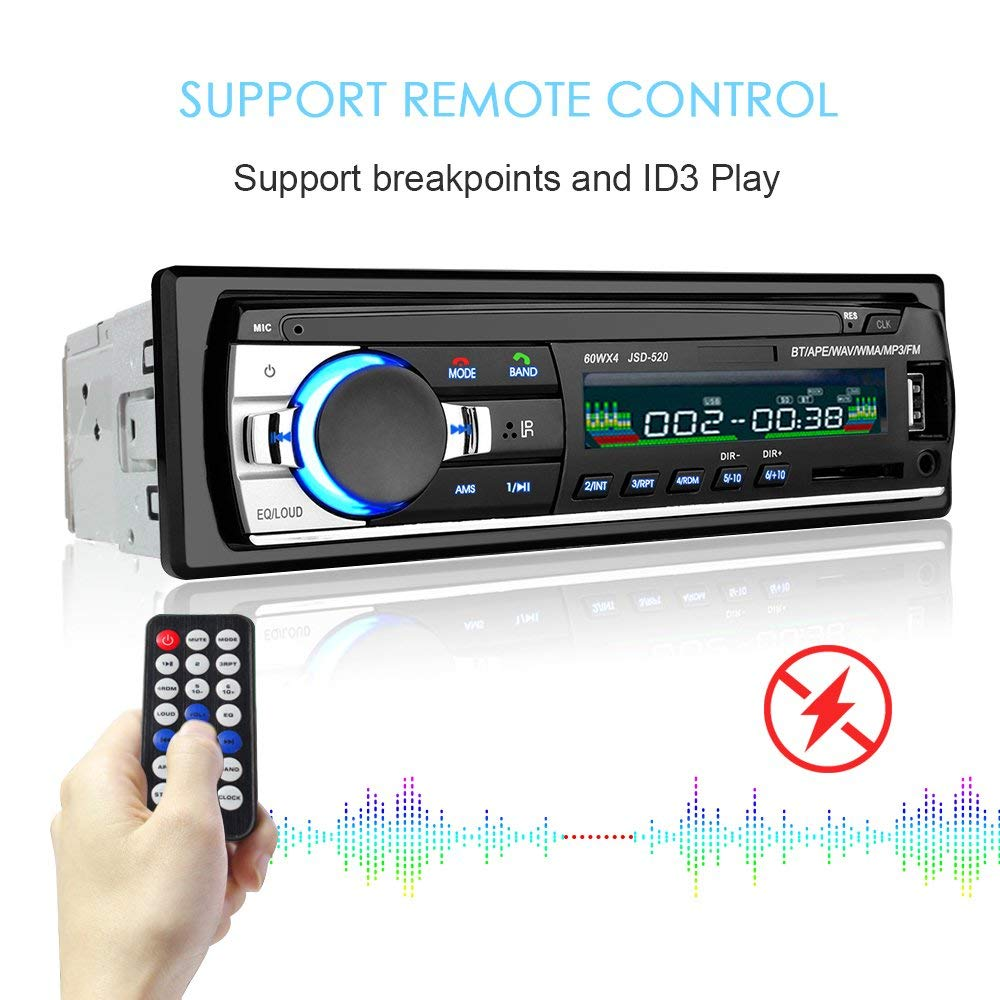 Image 2 - 1PC Autoradio Android bluetooth car stereo Multimidia Mp3 player usb 1 din car radio receiver Digital Auto subwoofer for pioneer-in Car Radios from Automobiles & Motorcycles