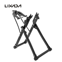 Lixada Bike Wheel Truing Stand Bicycle Wheel Maintenance Home Mechanic Truing Stand for Mountain Bike Road Bike Folding Bicycles