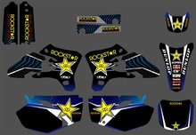 GRAPHICS&BACKGROUNDS DECALS STICKERS Kits for Yamaha YZ250F YZ450F YZF250 YZF450 2003 2004 2005 YZ 250F 450F YZF 250 450