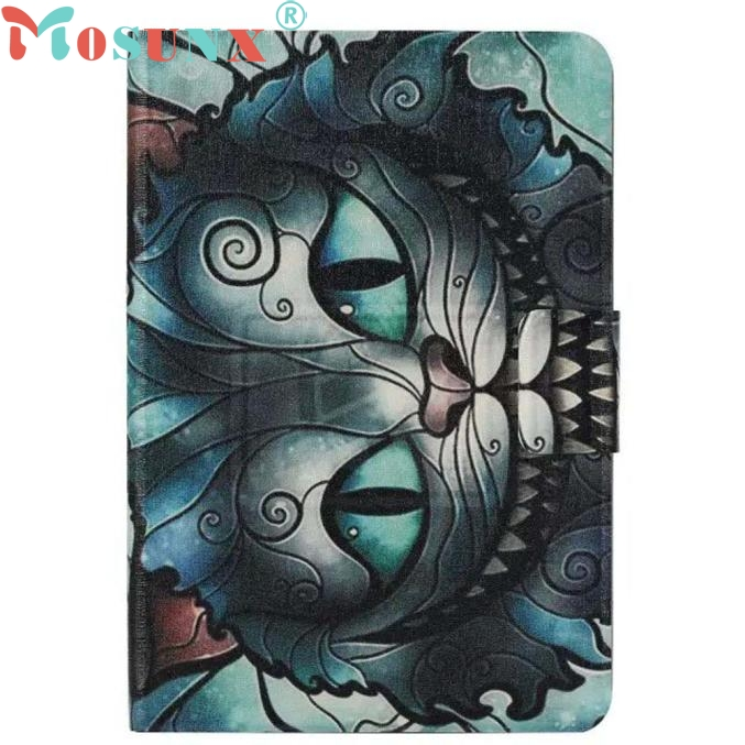 Owl Flip Wallet Leather Case Stand Cover For Amazon Kindle Fire HDX 7 Dropship LJJ0221 for amazon 2017 new kindle fire hd 8 armor shockproof hybrid heavy duty protective stand cover case for kindle fire hd8 2017