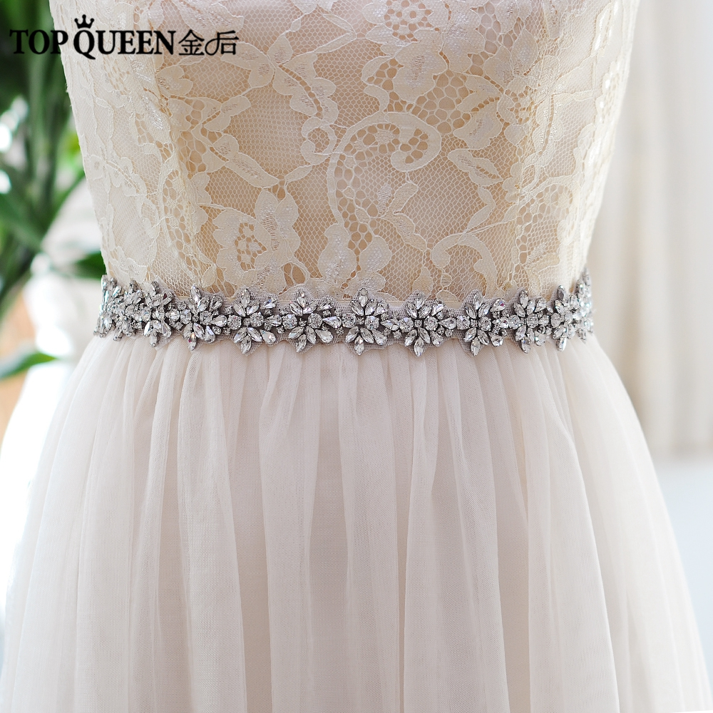 Dress wedding sashes with crystals recommend dress for spring in 2019