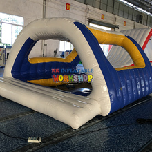 Water inflatable floating toy Outdoor water flushing inflatable floating park water rock climbing or water iceberg inflatable toy size 4 4 1 8 m playing in summer water park used