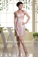 free shipping brides maid dresses 2013 pink sparkly bodycon dress bandage vestidos formales dress short mother of bride dresses