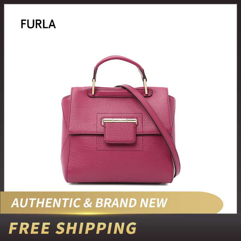 FURLA Handbag ARTESIA Leather Bag BHR8