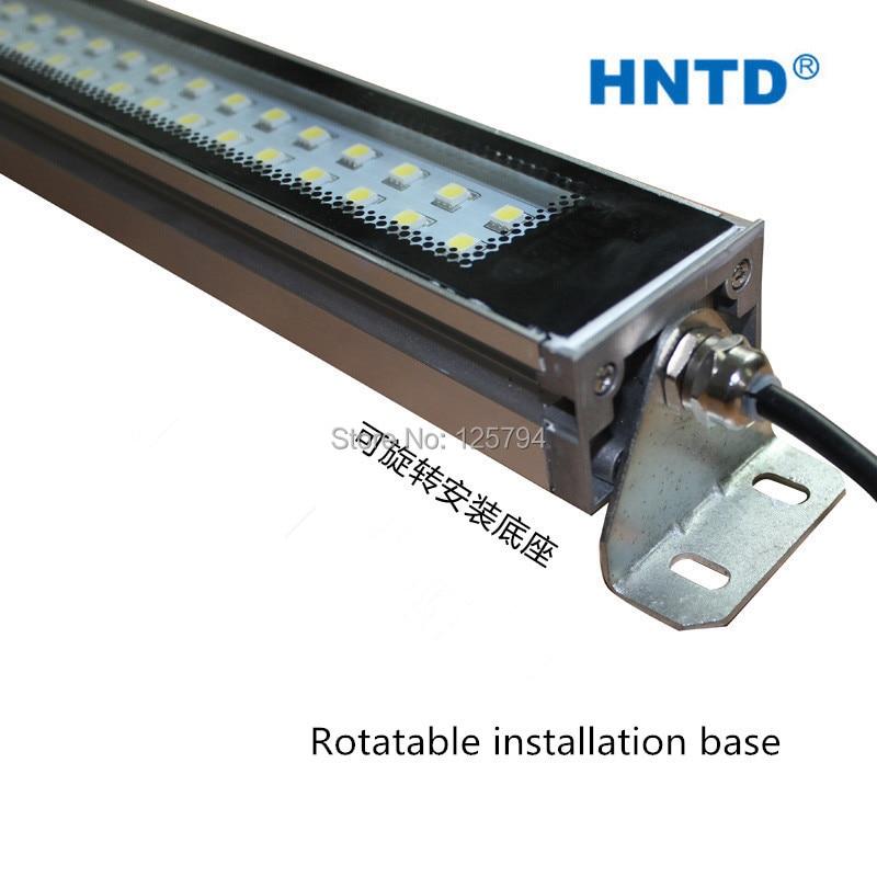 Hele verkoop kwaliteit TD 37 20 W 620mm lange 110 V/220 V LED metalen machine tool explosie proof verlichting Waterdichte CNC machine lamp - 3