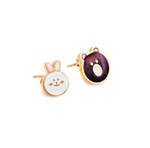 5 Styles Cartoon Earrings...