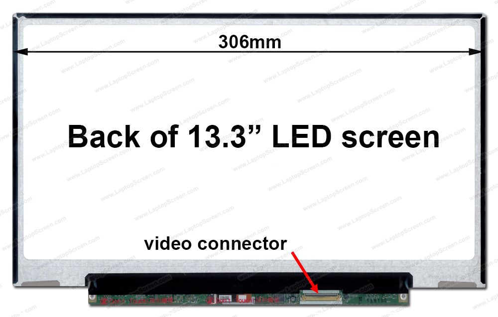 ФОТО QuYing Laptop LCD Screen Model LP133WH2-TLL4 for Toshiba PORTEGE Z835-P370 (13.3 inch 1366x768 40Pin N)