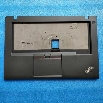 цена на New Original Keyboard Bezel Palmrest Cover for Lenovo ThinkPad T450 UMA Dock With Three Keys Touchpad WO/FPR 00HN550