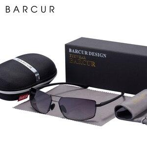 Image 4 - BARCUR Cutom okulary przeciwsłoneczne męskie okulary przeciwsłoneczne do jazdy męskie okulary przeciwsłoneczne dla mężczyzn Oculos de sol