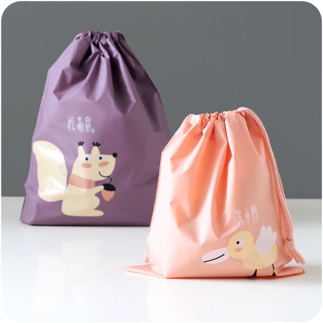Bolsa organizadora para cochecito de bebé, bolsa de pañales para mamá, bolsa de almacenamiento colgante para bebé, bolsa de pañales de viaje de ardilla plegable de dibujos animados